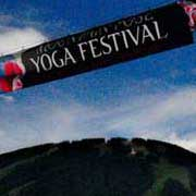 Entrance to Yoga Festival 2011